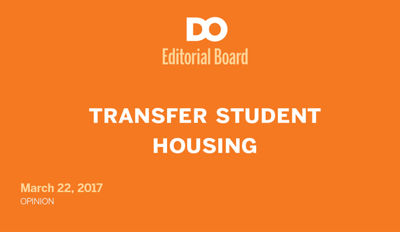 Transfer students at Syracuse University deserve more recognition for their struggle to obtain satisfactory housing